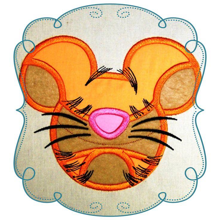 Winnie the Pooh Applique Tiger