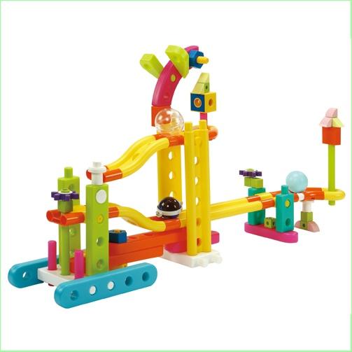 GIGO Toys - Kids Construction Sets - Junior Engineer  Mini Zoo - Ball Track