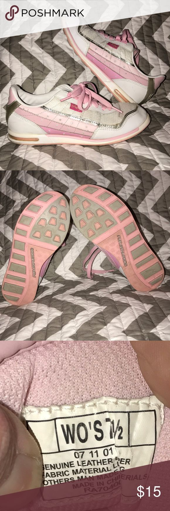 Women's Pastry Shoes Women's Size 7.5 Pink & White Pastry Shoes. Gently Worn. Shoes Sneakers