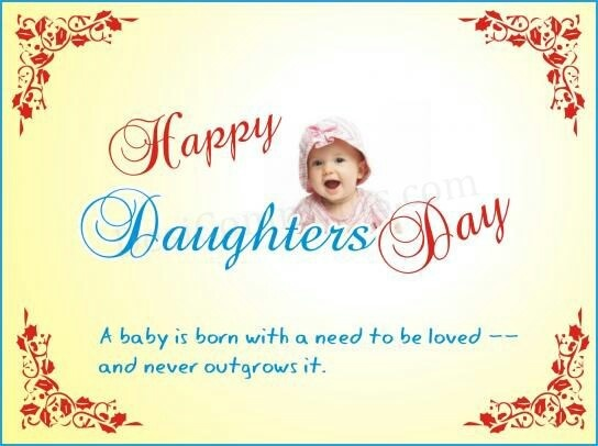 Happy daughters day