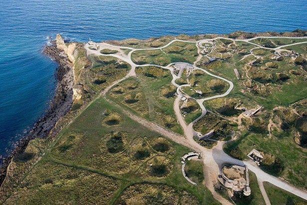 Pointe du Hoc, il promontorio di Omaha Beach
