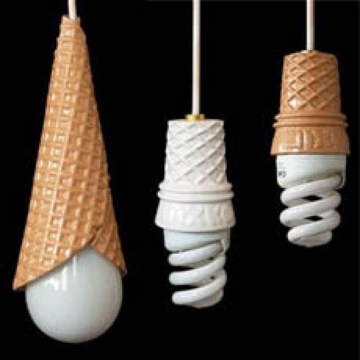 Ice Cream Lights Lights Light Bulb And Bulbs