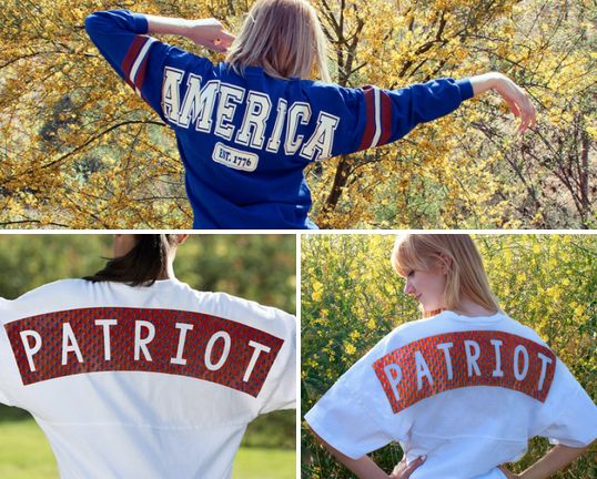 Add extra SPIRIT to our 4th of July! All-American jerseys from Spirit Jersey!   http://www.spiritjersey.com