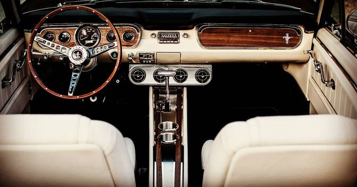 """1,106 Likes, 9 Comments - 🏁Autoworks Parts🏁 (@mustangs_and_autoworks) on Instagram: """"From the inside of a 1966 mustang GT convertible...all is right with the world...who's calling…"""""""