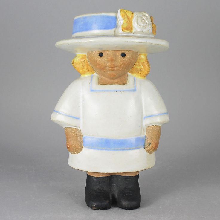 Lisa Larson (Turn of the Century 1973) Slender Sigrid Figurine