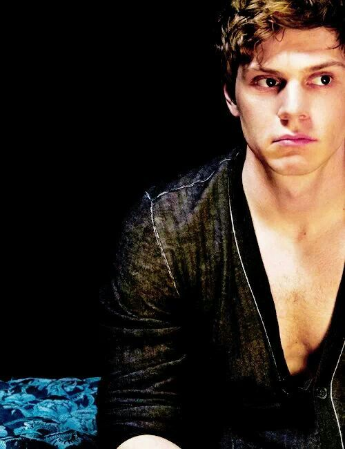 so i have made it my lifes goal to meet evan peters and hug him...and maybe touch his butt and hopefully not get arrested... and if emma roberts is there i will fight her to the death. :)