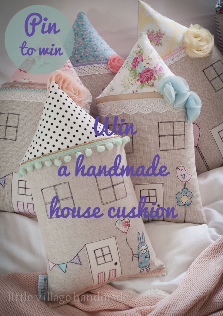 WIN A Gorgeous Handmade House Cushion