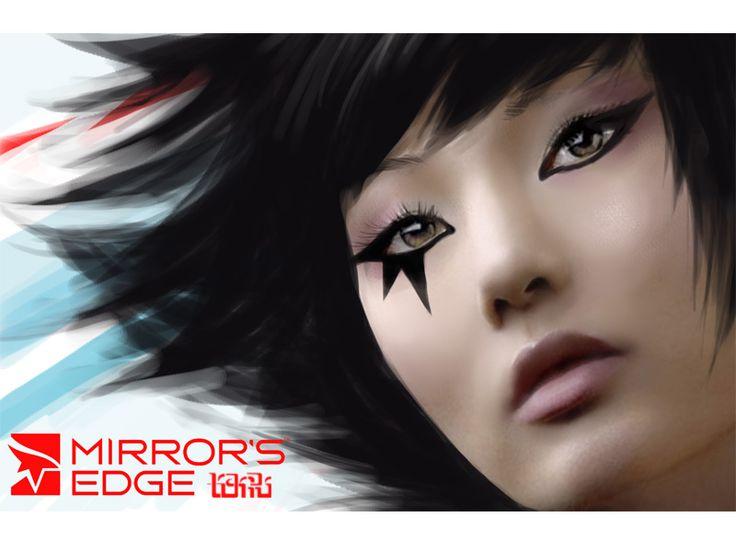 Mirrors Edge: Faith by ~skater-noxie on deviantART