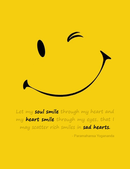 smiley quote