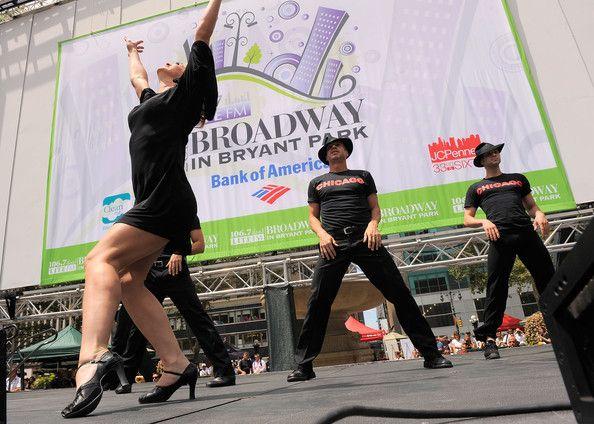 Broadway in Bryant Park : des spectacles gratuits tout l'été !