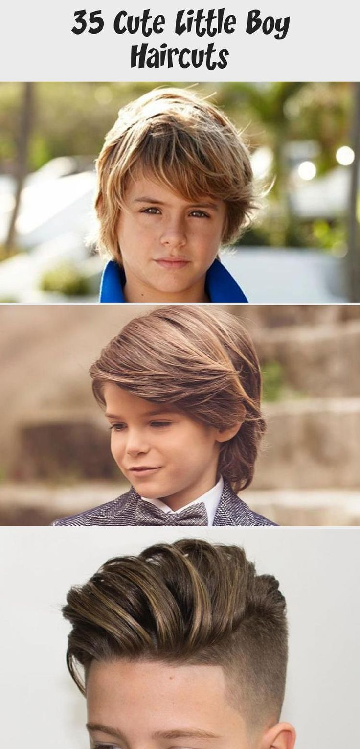 Long Layered Hairstyle   Best Little Boy Haircuts Cute ...
