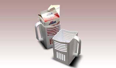 Στήριγμα για χάρτινο κουτί γάλακτος