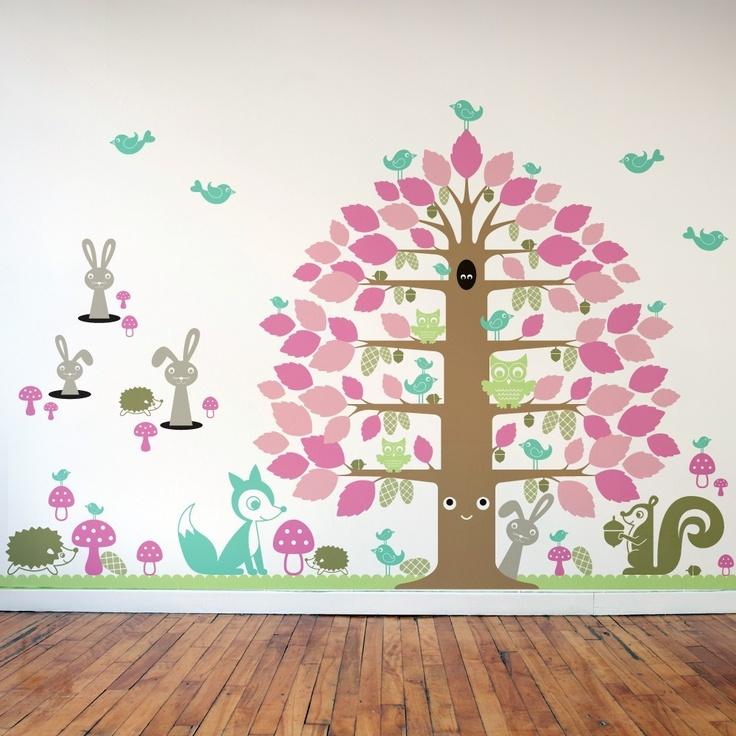 Pinterest Playroom Wall Decor : Playroom wall decal decor