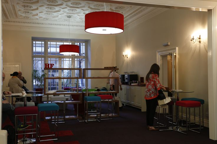 What do you think of our newly renovated Reception area?! #training #learninganddevelopment #personaldevelopment #london