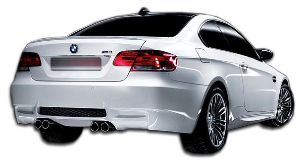 2007-2013 BMW 3 Series E92 E93 Convertible 2DR Duraflex M3 Look Rear Bumper Cover - 1 Piece