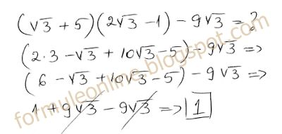 multiplying radicals examples -  example 7 with solution