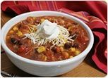 Low Fat Slow Cooker Easy Taco Soup from sparkrecipes.com