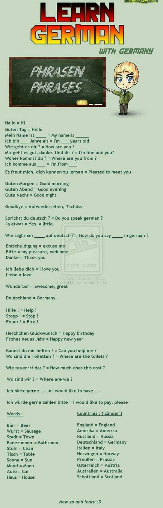 16 best Englisch images on Pinterest | German language learning ...