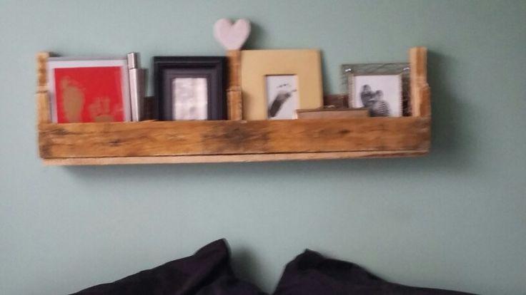 Pellet shelf