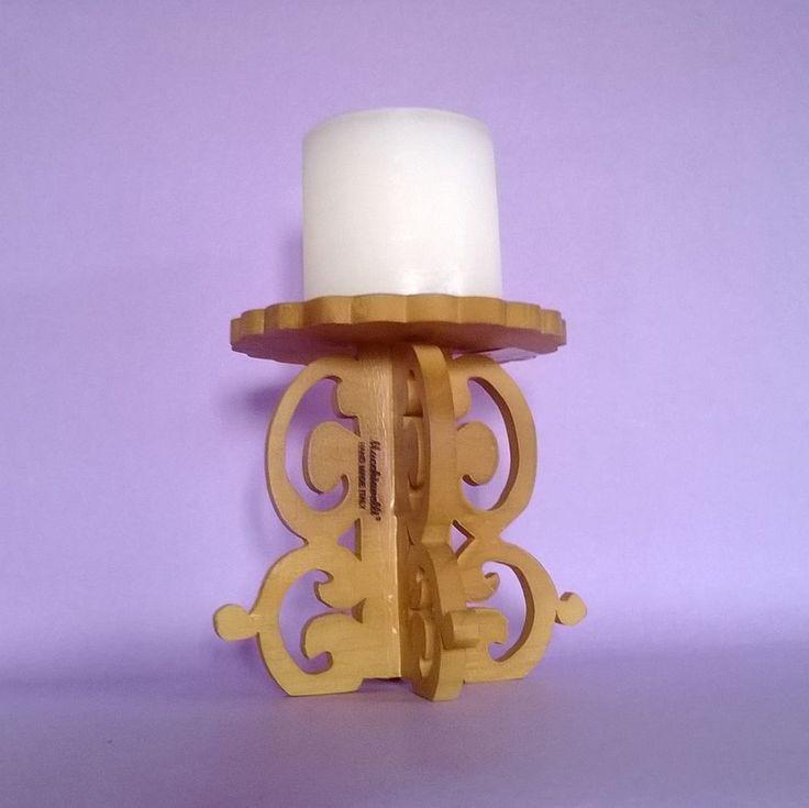Oltre 25 fantastiche idee su portacandele legno su - Portacandele da tavolo ...