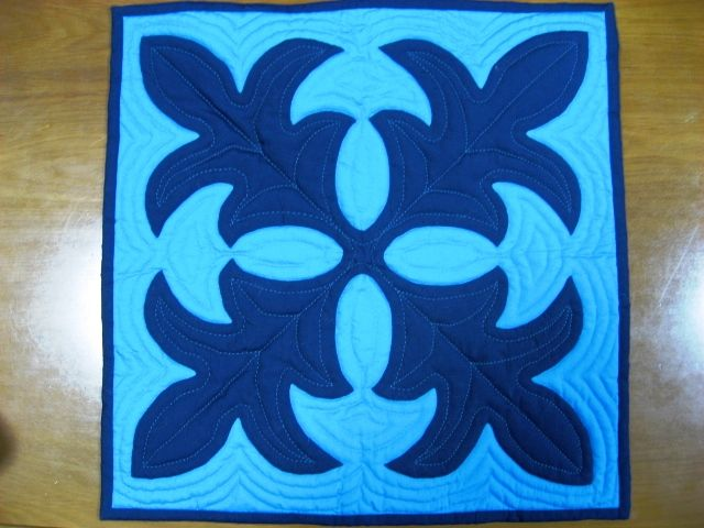 My first quilt This Tileaf Design Pono Teacher