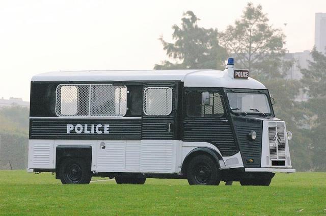 """Citroën type H le célèbre """"Panier à Salade"""""""