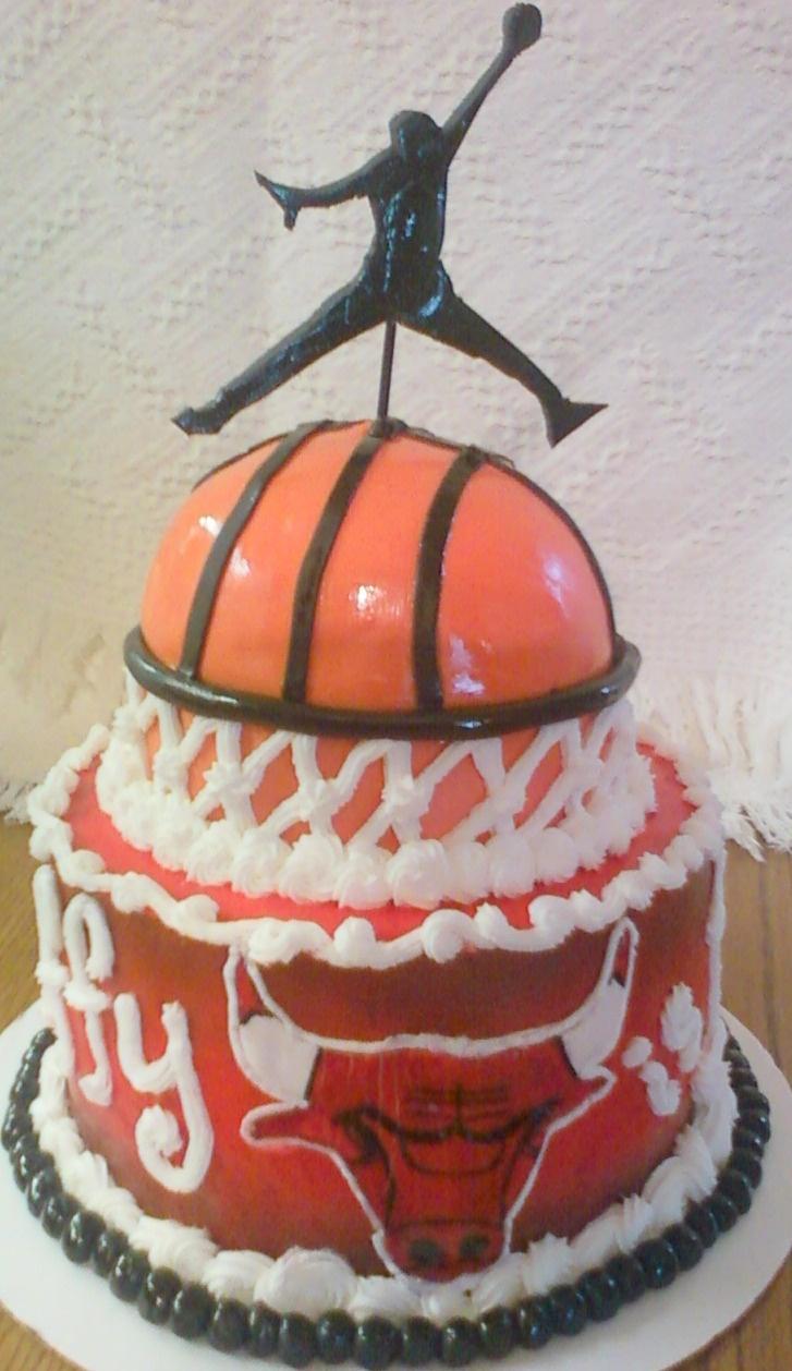 michael jordan cake decorations