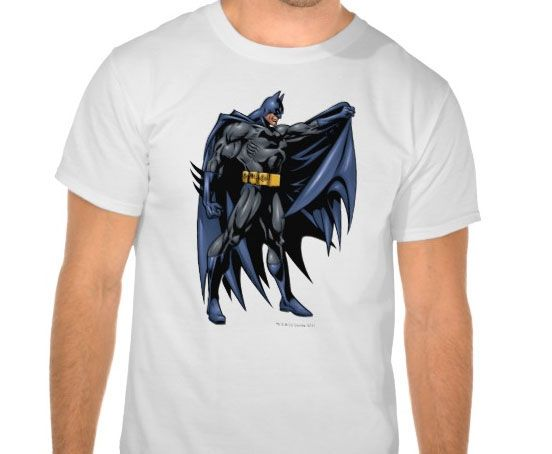 Batman Full-Color T-shirt Design