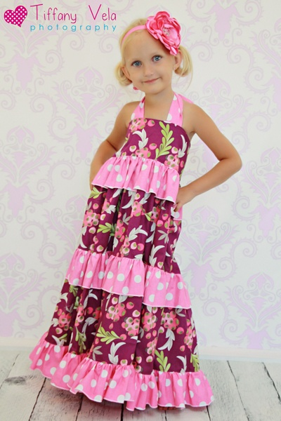 Julia S Twirly Maxi Dress Pdf Pattern Sewing Patterns