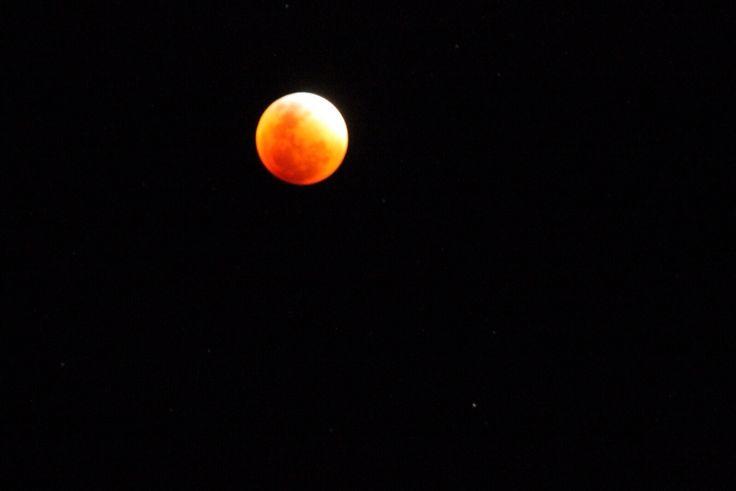 Luna roja en Calama