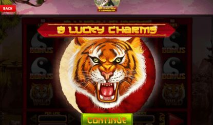 You can play slot 8 Lucky Charms