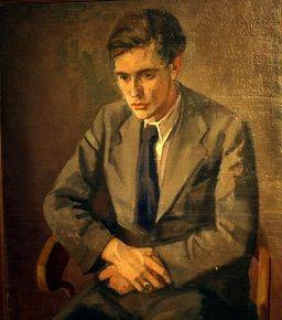 Ernst Meister (3 september 1911 - 15 juni 1979) - Portret door Josef Plenk, 1937