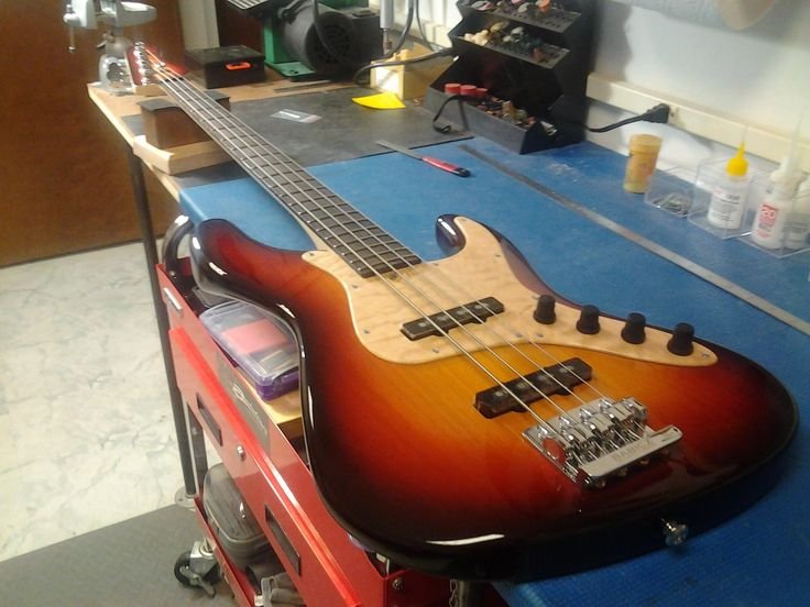 The newest Brubaker bass model to be unveiled at BASS PLAYER LIVE! 2013 on Nov. 9th in Hollywood California!