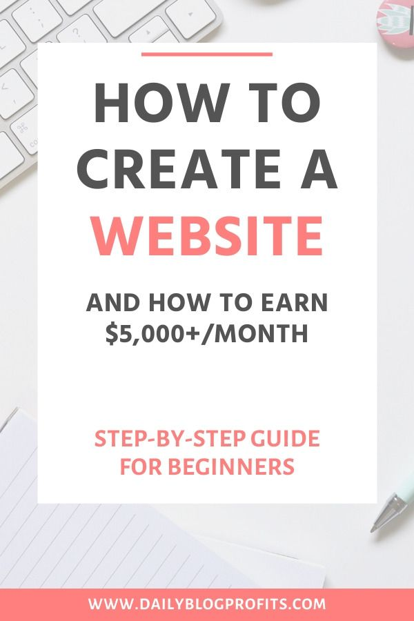 Free Tutorial How To Create A Website Easily And Earn Thousands Per Month In 2020 Creating A Blog Create Website Website Making