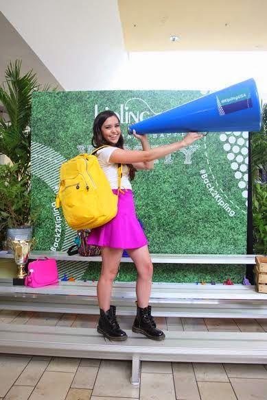 Megan Nicole at Kipling's Miami #Back2Kipling Event