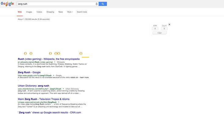 zerg rush google how to play