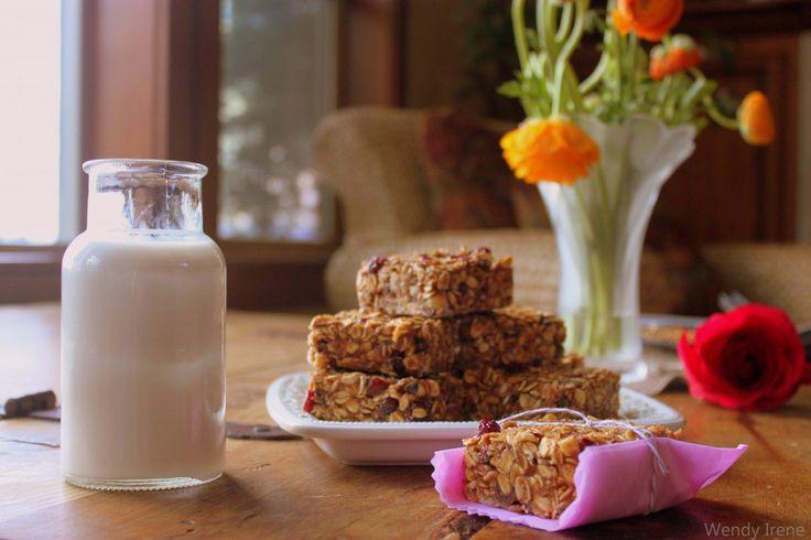 Chewy Homemade Granola Bars [Vegan, Gluten-Free]