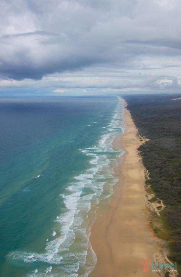 75 Mile Beach, Fraser Island, Australia - The World's largest sand island