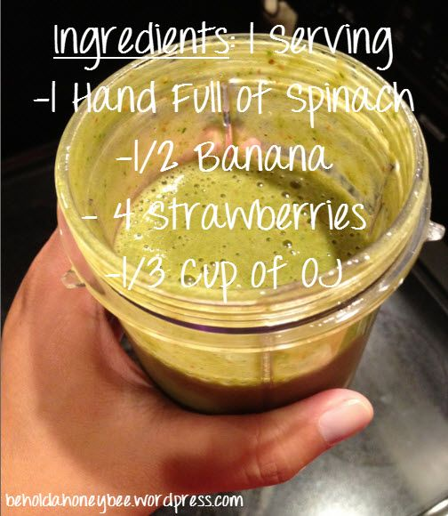Detox Smoothie.. i could try this