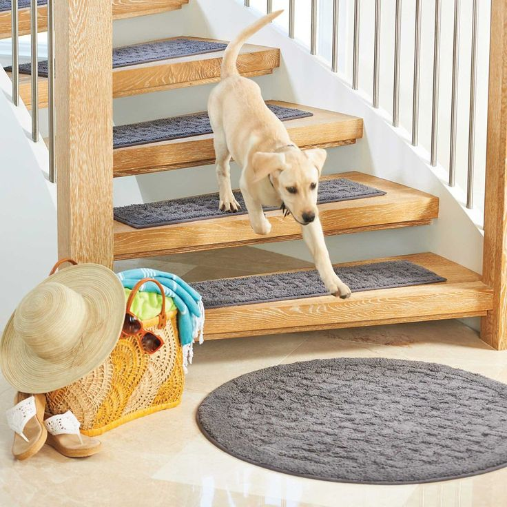 Best Harrison Weave Washable Stair Treads Set Of 4 Stair Rugs 400 x 300