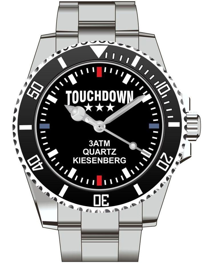 Touch Down American Football - KIESENBERG ® Uhr 2488 von UHR63 auf Etsy
