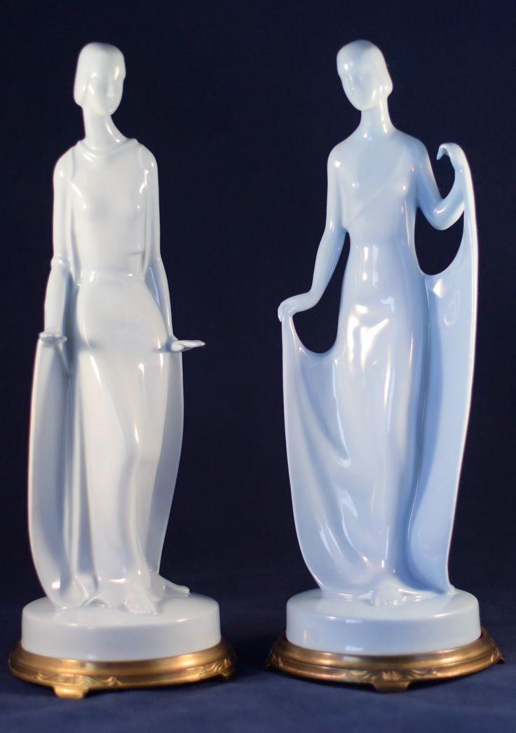 Noritake Deco Lady Dancers
