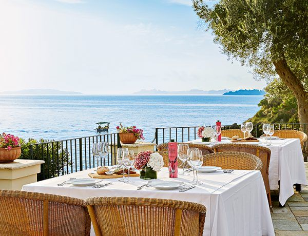 "Corfu: A high level Gastronomy!  Plan your luxury vacations in Greece with the ultimate Travel Guide ""Luxury Resorts Greece"". All the finest destinations, hotels & resorts are here! #LuxuryResortsGreece"
