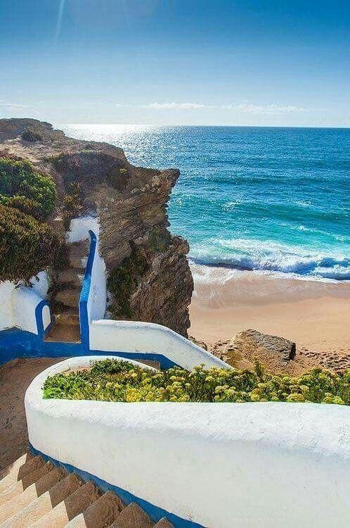 Praia de São Sebastião, Ericeira,  Portugal