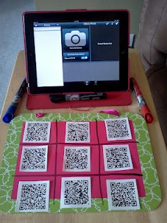 Use QR codes to teach – Soo easy. Love it.