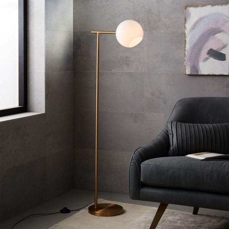 West Elm: Staggered Glass Floor Lamp
