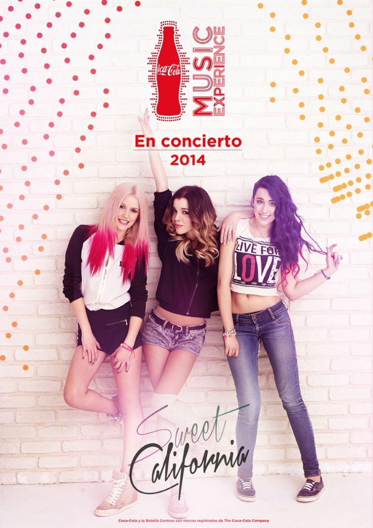 Sweet California actuarán en el Coca-Cola Music Experience 2014