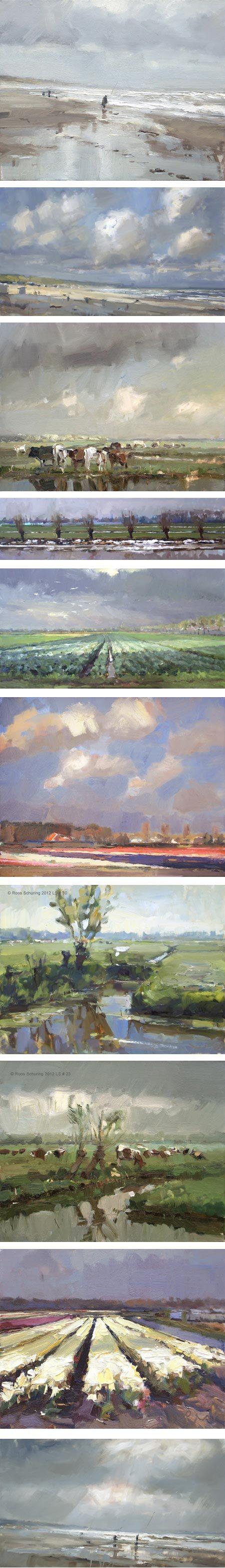 Roos Schuring schilderijen