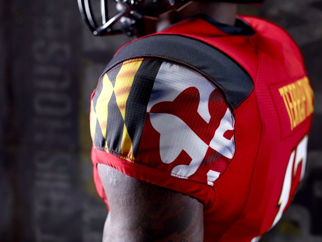 Maryland+Football+Gloves