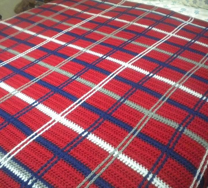 17 Best images about Knit plaid on Pinterest Afghan ...